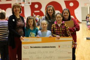 Mt Tabor donation to Leukemia & Lymphoma Soc
