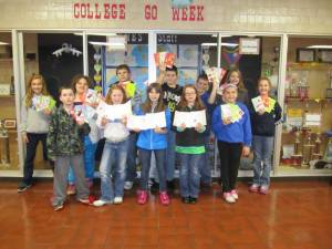 New Washington Elem Cards for Troops GCCS